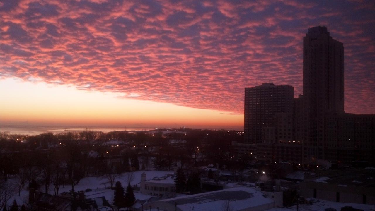 Lake Michigan December 18 2013