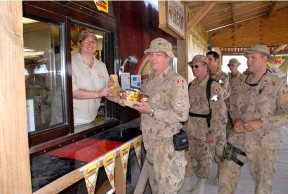 Tim Hortons military