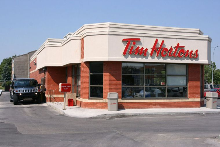 Tim Hortons typical store 2014