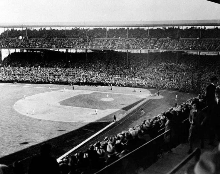 Wrigley Field April 1914