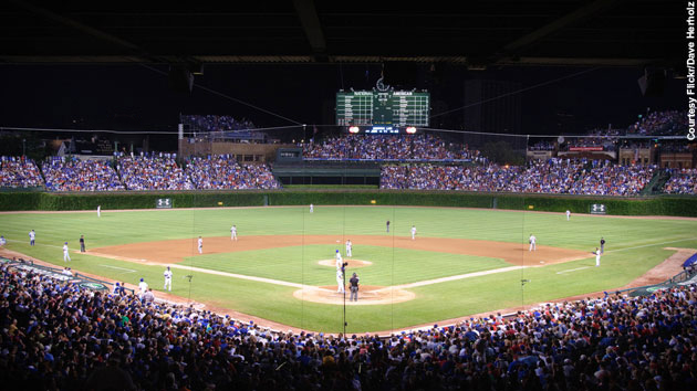 Wrigley Field First Night Game 1988