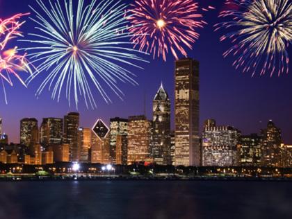 Fireworks - Chicago