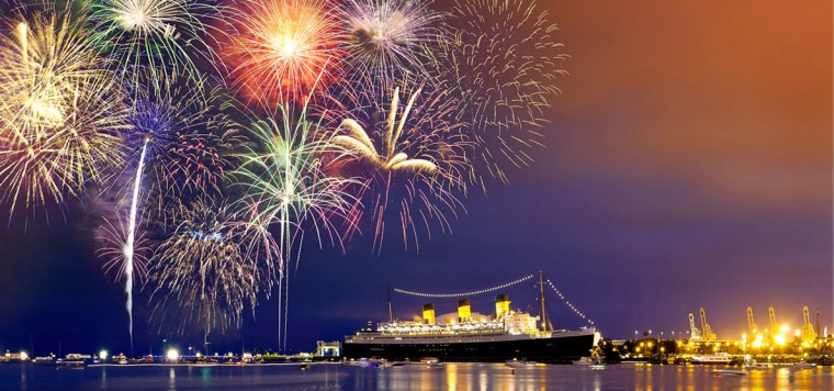 Fireworks - Queen Mary