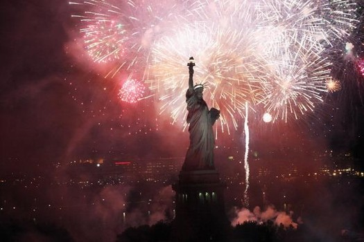 New York Celebrates 125th Anniversary Of The Statue Of Liberty