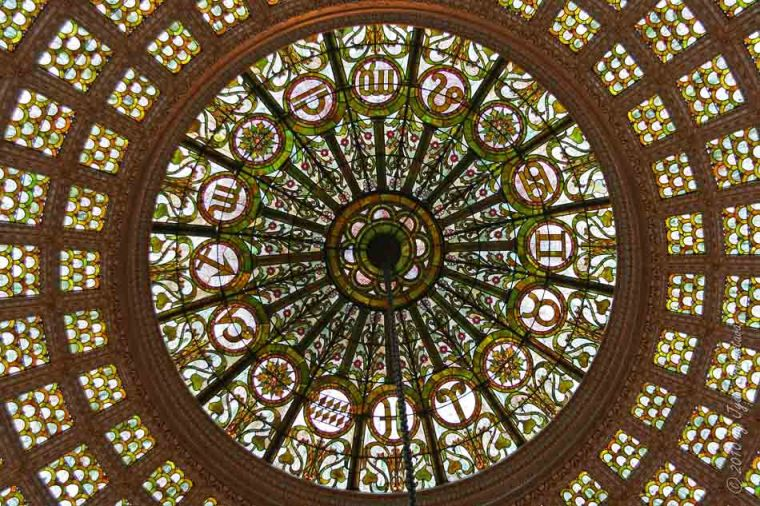 Stained Glass Tiffany Dome