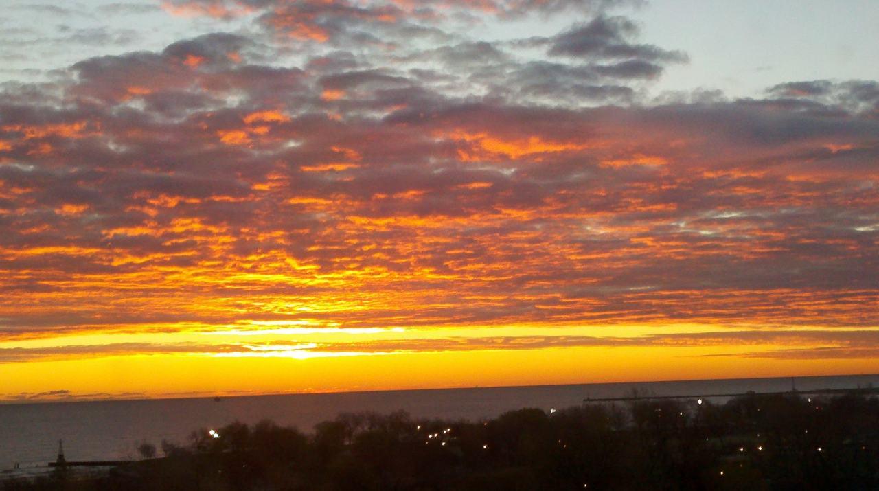 Sunrise Lake Michigan 1