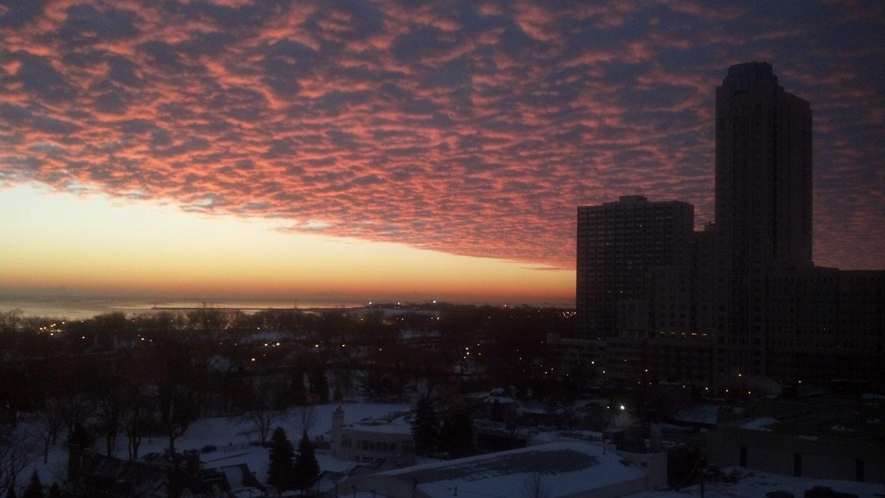 Sunrise Lake Michigan 2