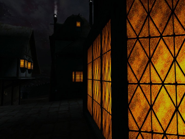 Windows glow