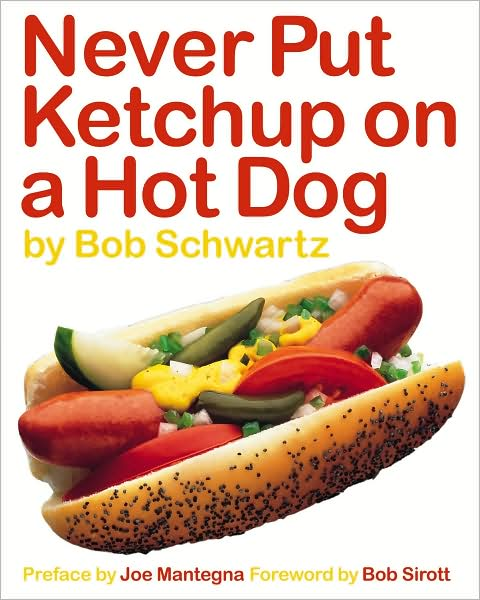 Chicago Hot Dog no ketchup book