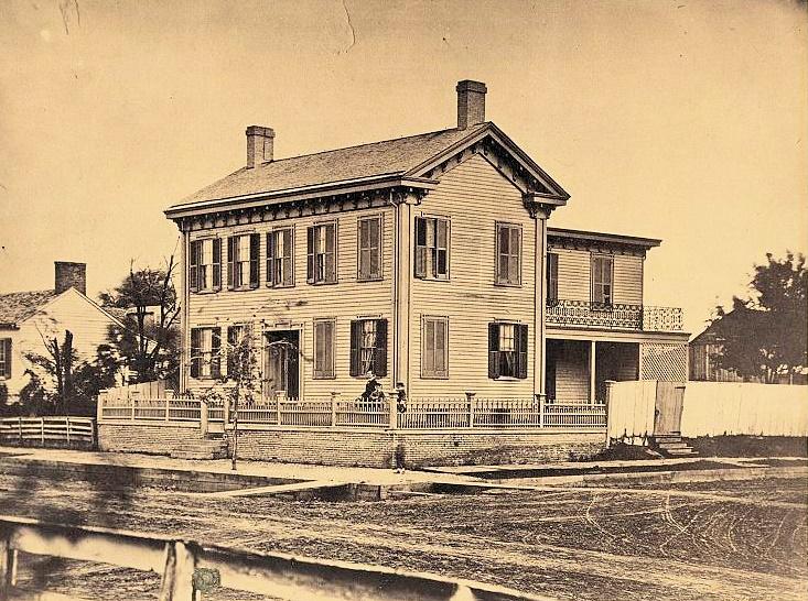 Lincoln Home circa 1850 2