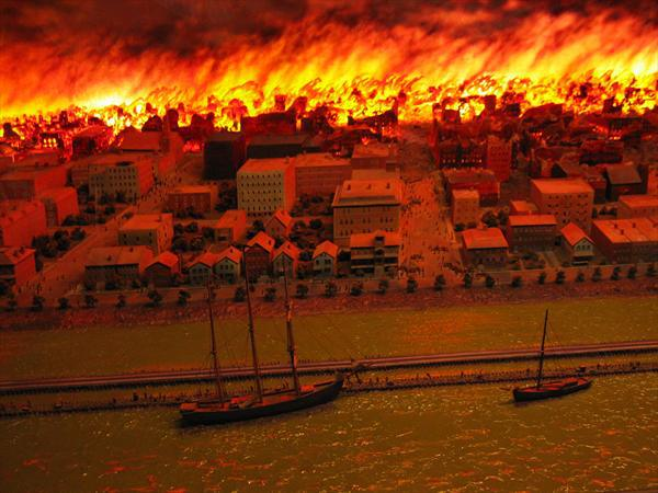 the consequences of the great chicago fire of 1871 The great chicago fire of 1871 killed 300 people, burned thousands of buildings  to the ground, but historians  part 2: the aftermath.