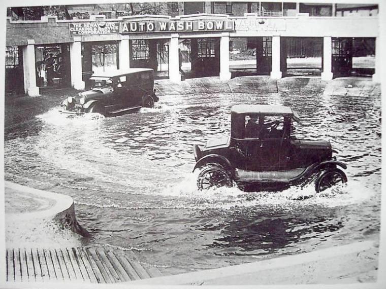 Car Wash Bowl 1920 Geoffrey Baer