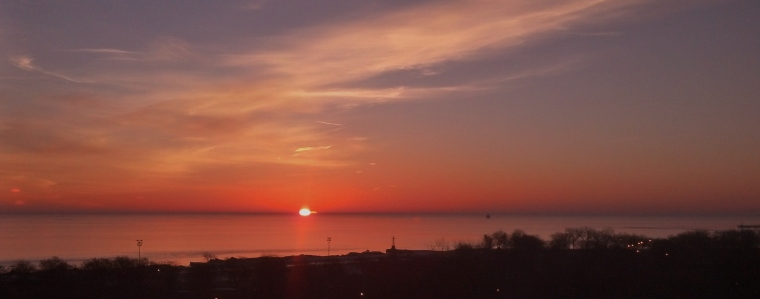 Lake Michigan Sunrise March 12 2015