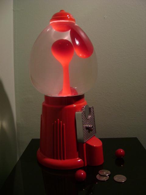 Lava Lamp Gumball Machine