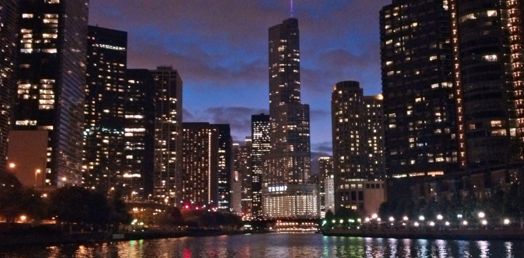 Chicago River Cruise October 2014