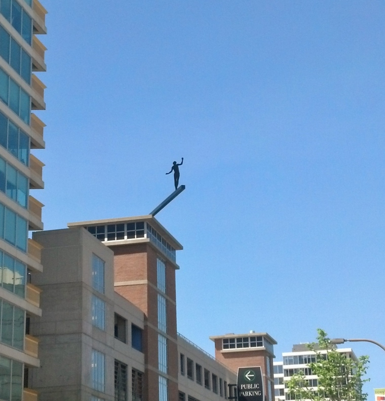 Evanston Statue 2