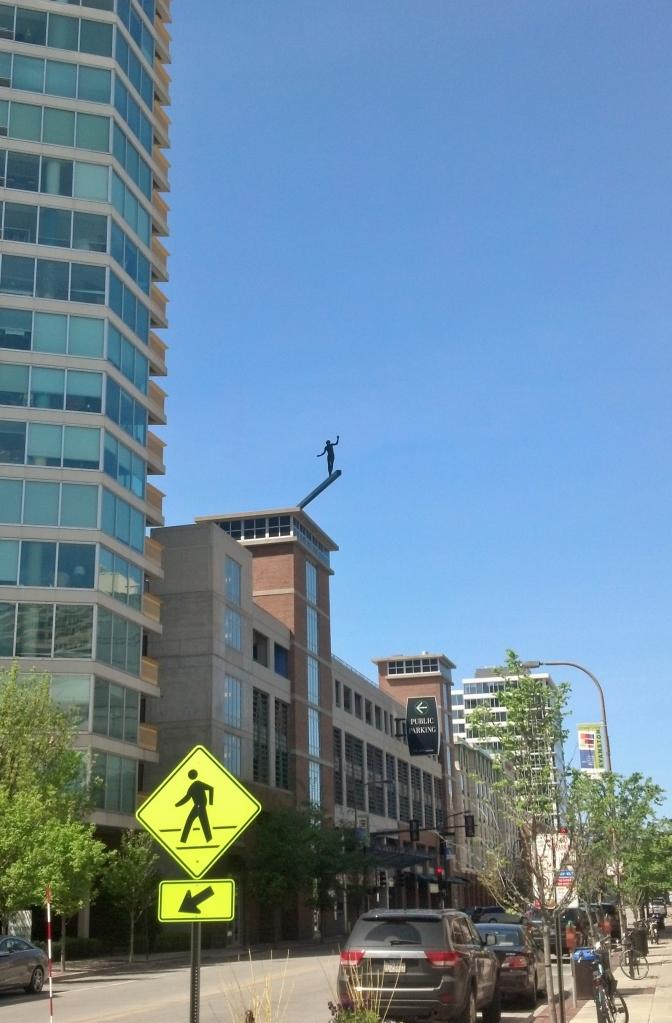 Evanston Statue