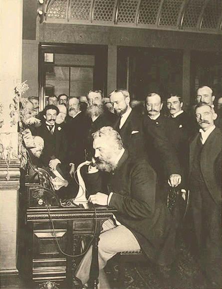 Alexander Graham Bell New York to Chicago june 12 1878