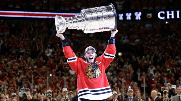 Chicago BlackHawks Stanley Cup 2015 Photo 1