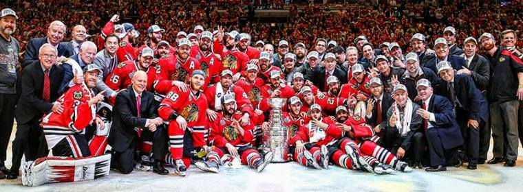 Chicago BlackHawks Stanley Cup 2015 Photo 4