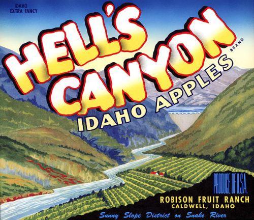 Hells Canyon Apples