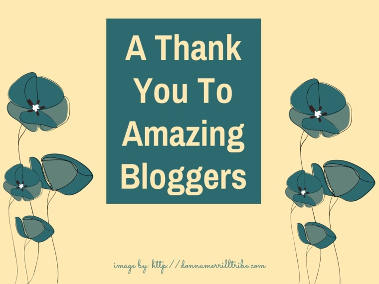 Thank you Bloggers