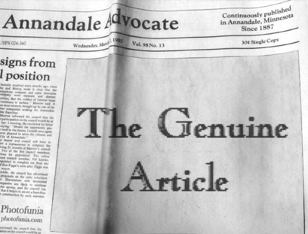 Genuine Article