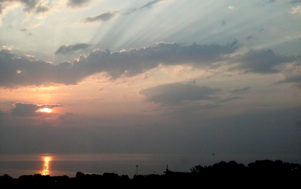 Sunrise Lake Michigan 2 September 2 2015
