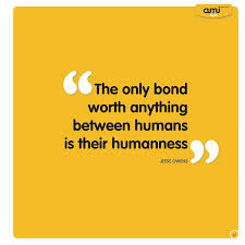 Humanness quote