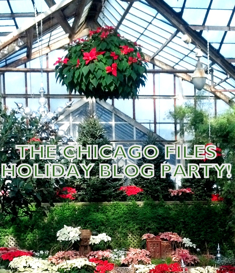 Blog Holiday Party Poster