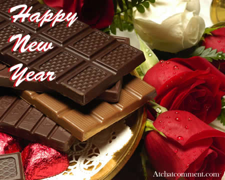 Happy New Year Chocolate