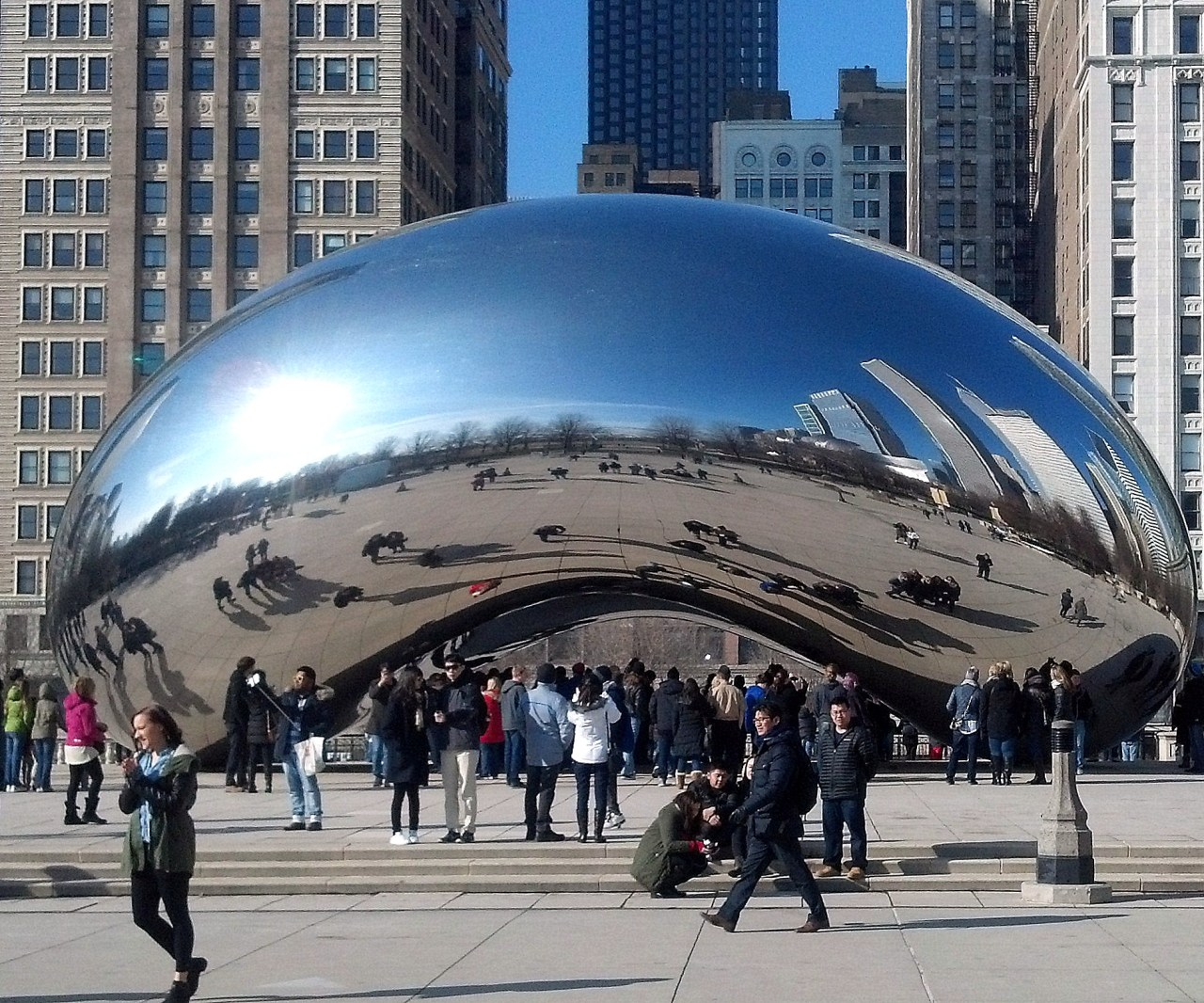 The Bean Millenium Park Feb 6 2016