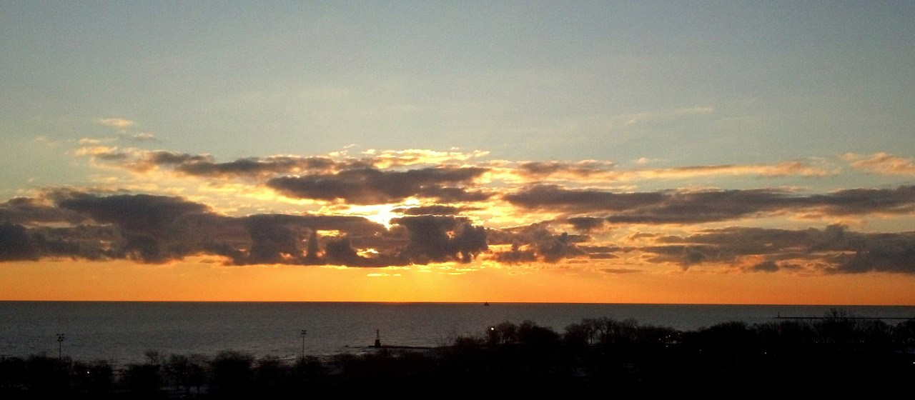 sunrise Lake Michigan March 6 2016 2