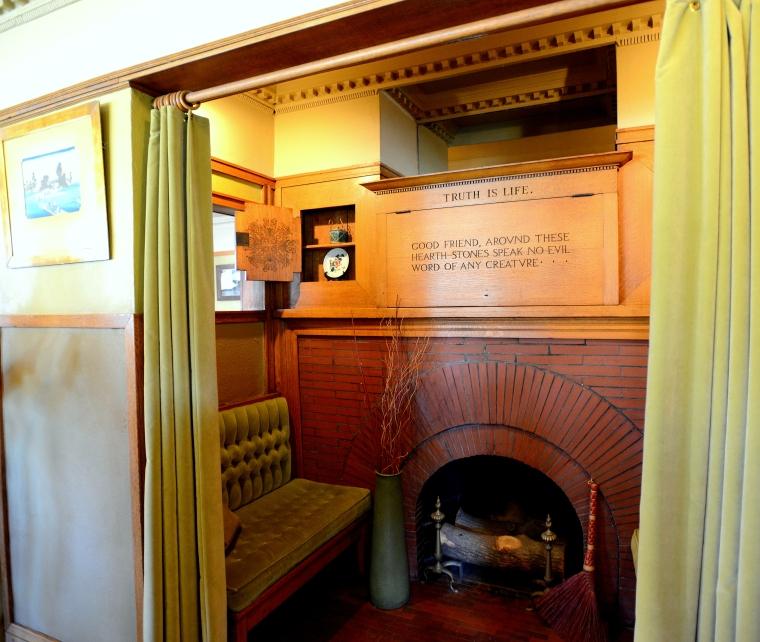 Frank Lloyd Wright Home Entrance