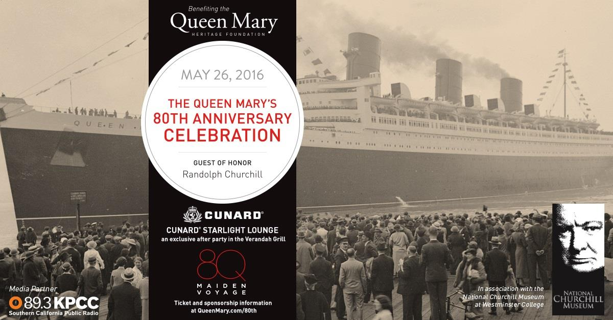 Queen Mary 80th Anniversary Celebration