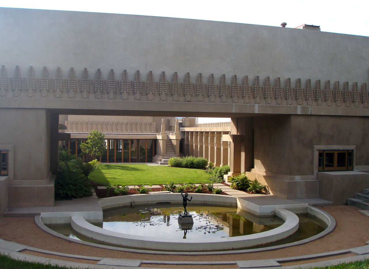 Wordless wednesday hollyhock house los angeles frank for Hollyhock house