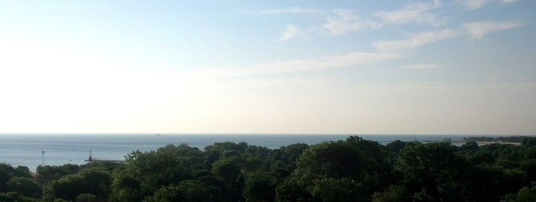 Lake Michigan June 20 2016 First Day of Summer