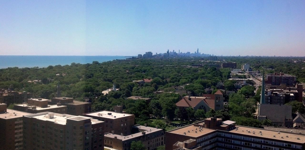 Evanston Chicago skyline 2