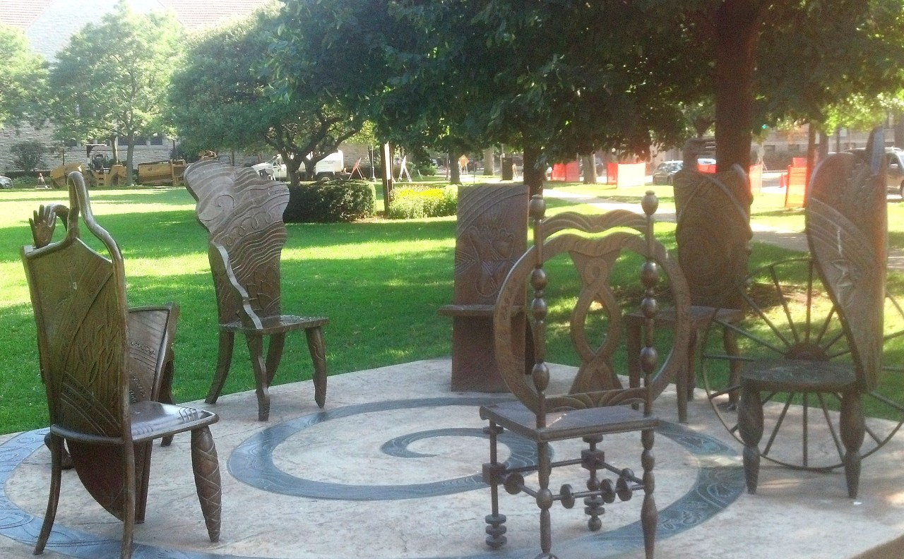 Chairs in the park
