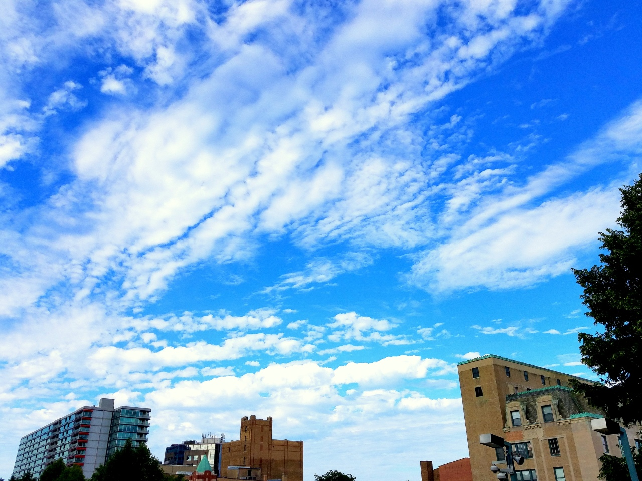 Clouds over Evanston, August 26 2016