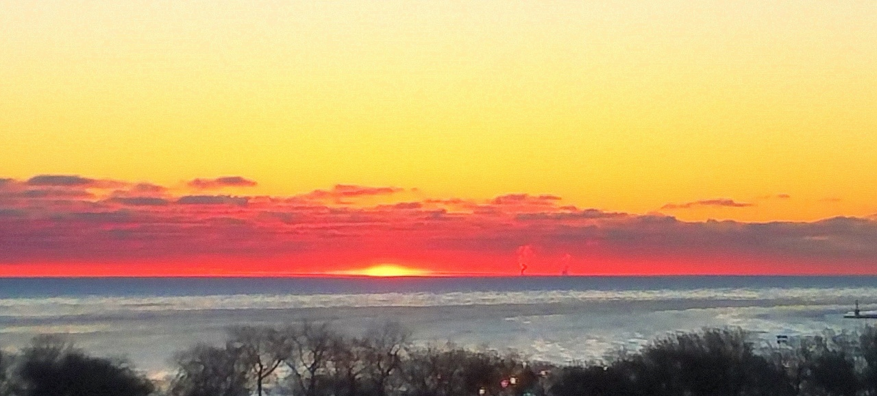sunrise-lake-michigan-january-30-2017-3
