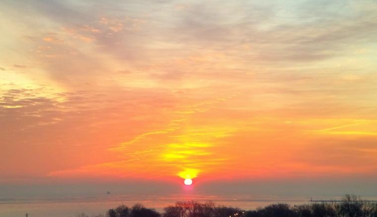sunrise-lake-michigan-feb-5-2017-2