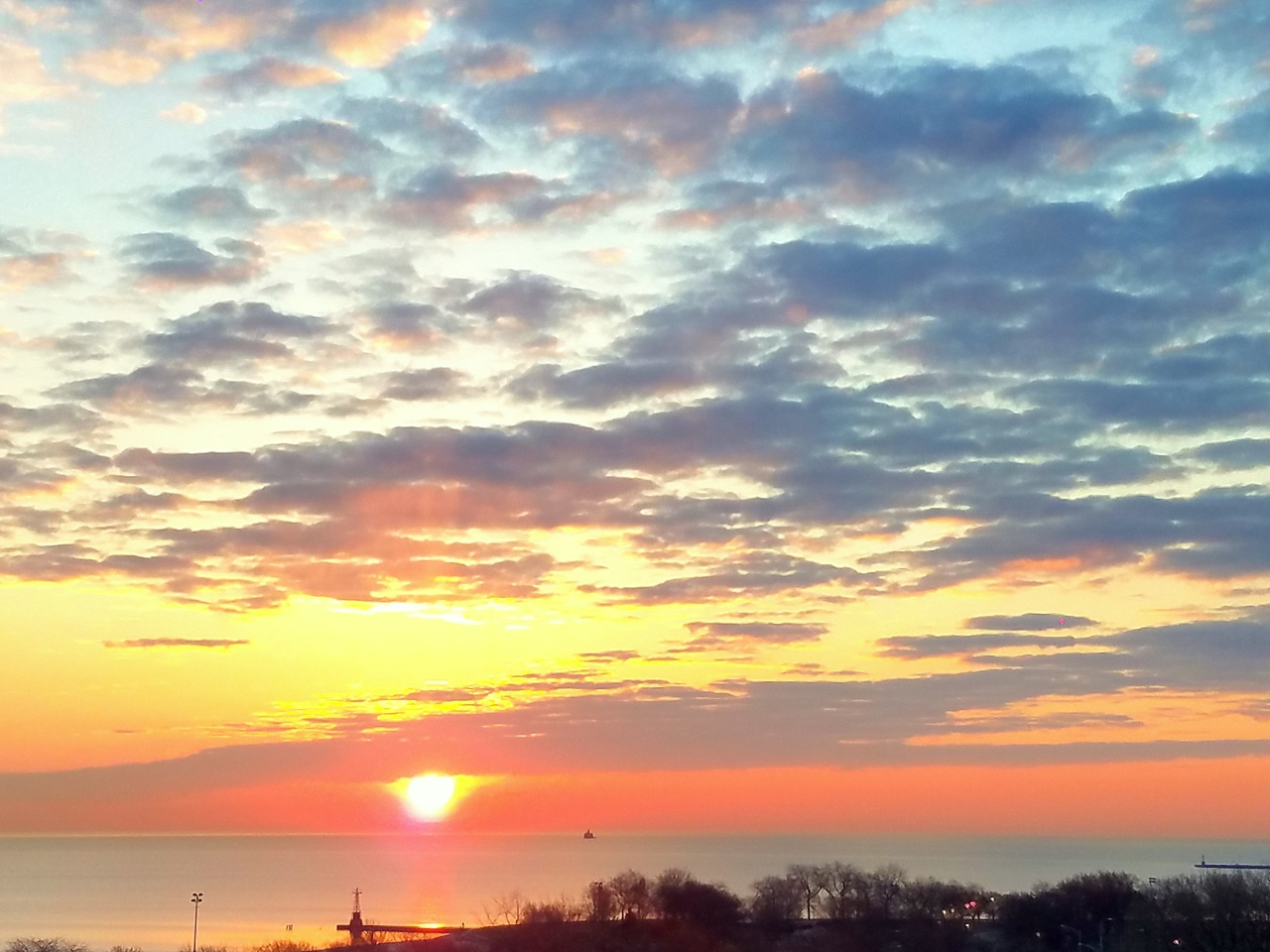 sunrise-lake-michigan-february-27-2017-3