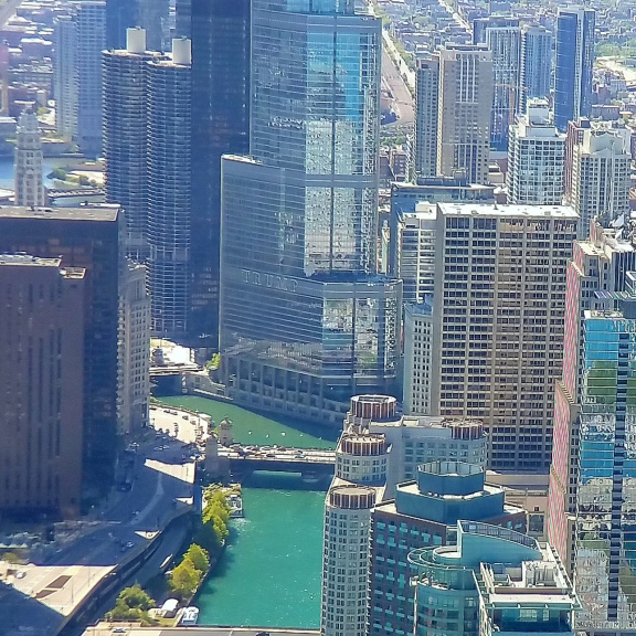 Chicago via Helicopter May 2017 2