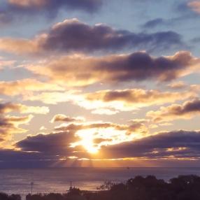 sunrise Oct 11 2018