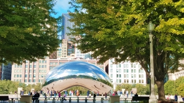 The Bean Millenium Park Oct 2018