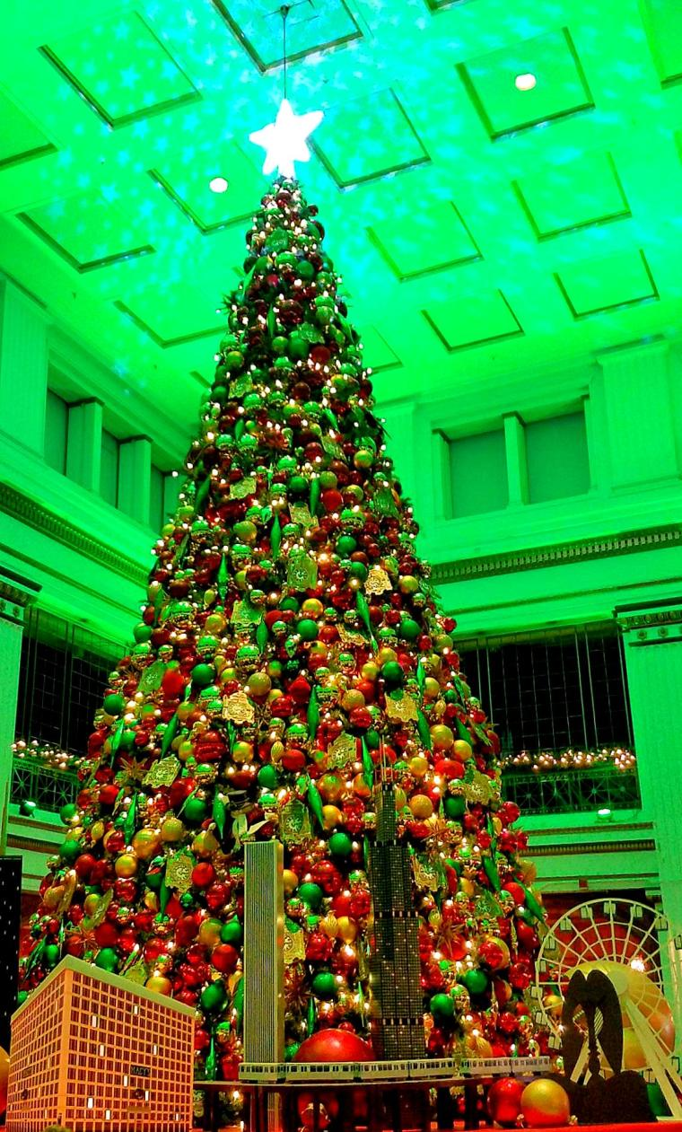 Macys Christmas Tree.Macy S Christmas Tree Tradition Part 2 The Chicago Files